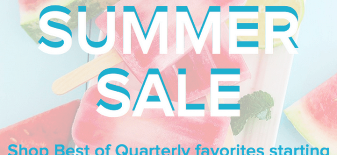 Best of Quarterly Sale + Coupon Codes