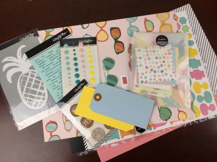 messy box june 2015 review