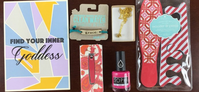 Mission Cute Subscription Box Review – May 2015