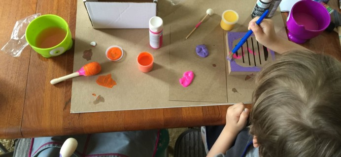 June 2015 My Pretend Place Play Projects Subscription Box Review & Coupon