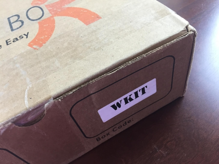 sere box welcome kit review june 2015 IMG_5423