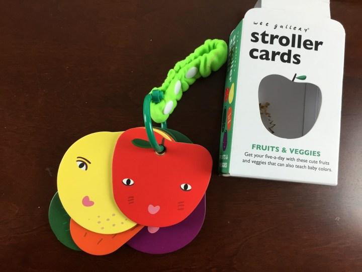 stroller cards