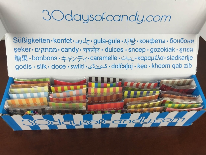 30 days of candy from durian to treacle july 2015 box 3