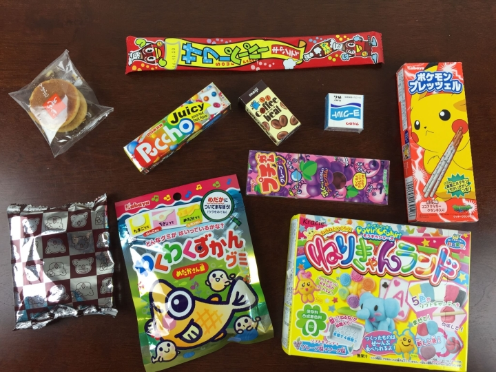 Japan candy box june 2015 review