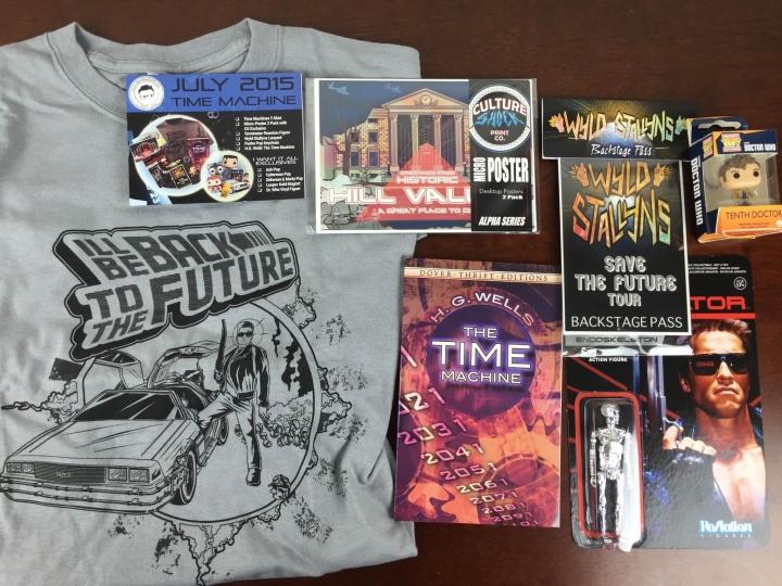 collectible geek july 2015 review