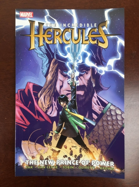 comic con box august 2015 hercules graphic novel