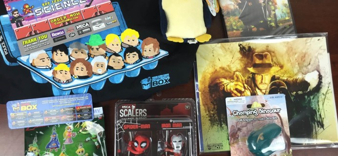 Comic Con Box July 2015 Subscription Box Review + August Theme Spoilers #conlife