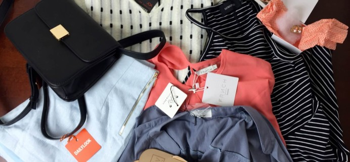 Daily Look Elite Fashion Subscription Box Review – July 2015