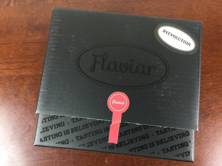 flaviar ryevolution  inner box