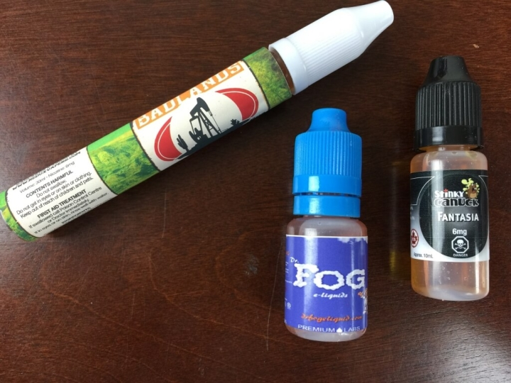 fresh air vaping subscription box july 2015 juice 1