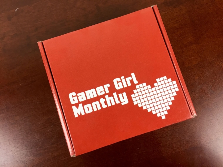 gamer girl monthly july 2015 box