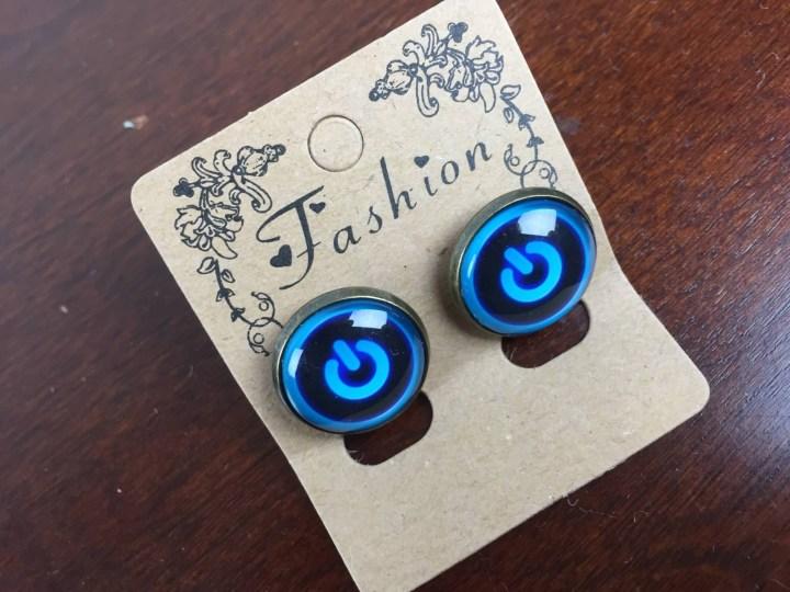 gamer girl monthly july 2015 power on earrings
