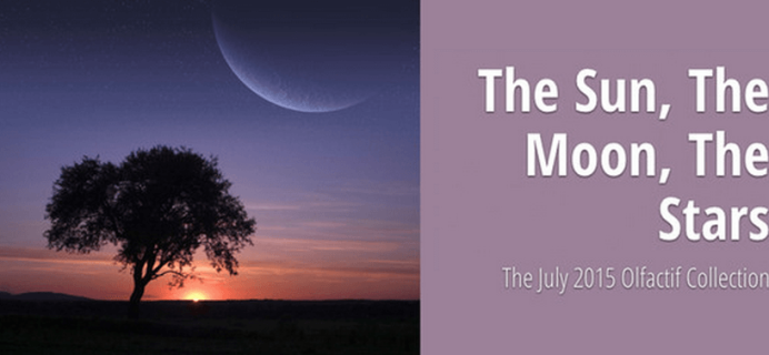 Olfactif July 2015 Collection – The Sun, The Moon, The Stars