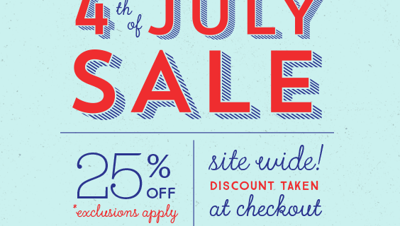 Brit + Co Fourth of July 25% Off Sale – Craft Kits, Decor, Gifts, More