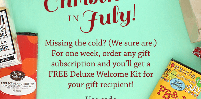 Treatsie Free Gift with Gift Subscription + Coupons for You!