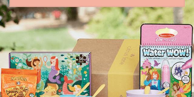 Citrus Lane Coupon Codes – Free Melissa & Doug Clock or Blocks + 30% Off First Box