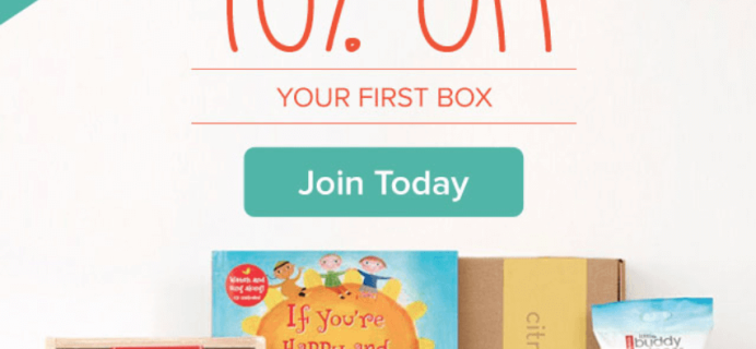 Citrus Lane Free Melissa & Doug + 40% Off First Box – TODAY ONLY!