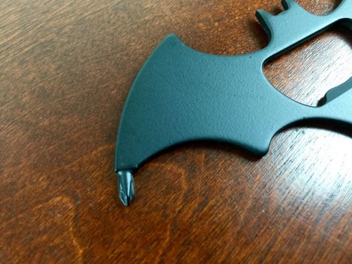loot crate july 2015 batarang multitool
