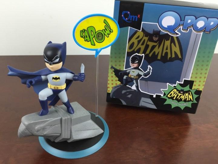 loot crate july 2015 q-pop batman