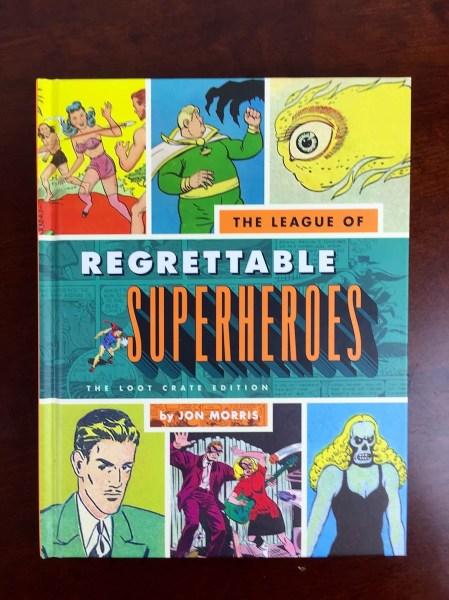 loot crate july 2015 regrettable superheroes