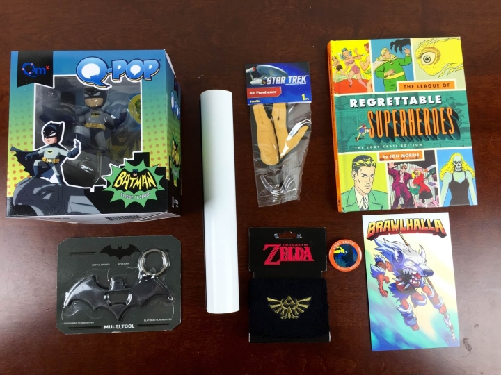 loot crate july 2015 review