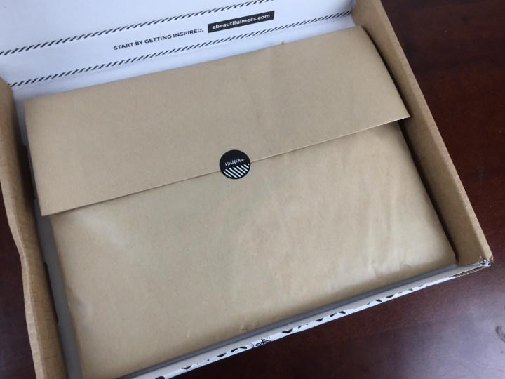 messy box july 2015 envelope