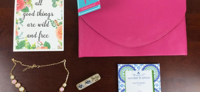 Mission Cute Subscription Box Review – July 2015