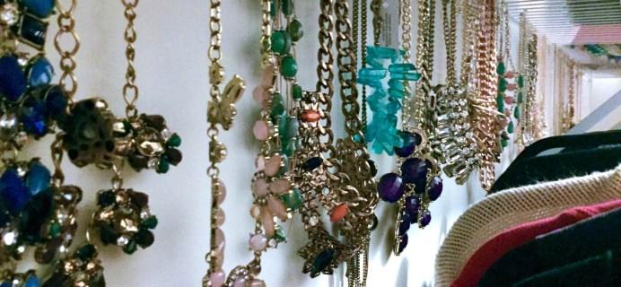 Necklace Organizing Idea!