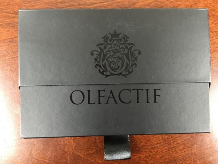 olfactif perfume subscription box july 2015 box inner