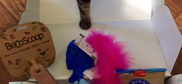 PawPack Cat Subscription Box Review & Coupon – May 2015