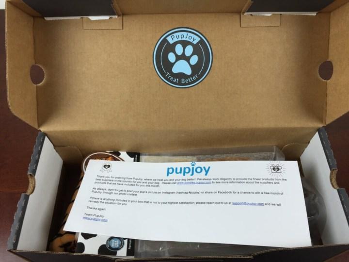 pupjoy july 2015 unboxing
