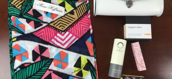 Box of Style by Rachel Zoe Summer 2015 Review