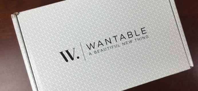 May 2015 #Wantable Makeup Subscription Box Review