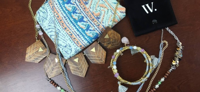 July 2015 Wantable Accessories Subscription Box Review