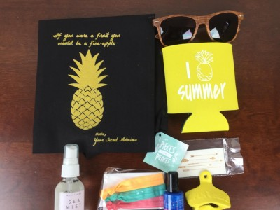 July 2015 Your Secret Admirer Subscription Box Review & Coupon