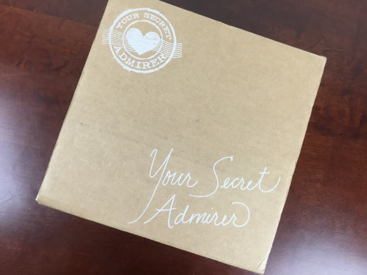 your secret admirer box july 2015 box