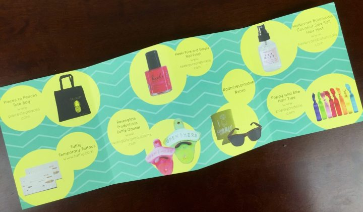 your secret admirer box july 2015 card 1