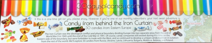 30 days of candy august 2015 iron curtain russian candy