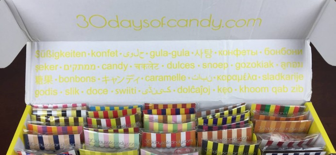 """30 Days of Candy Subscription Box Review + Coupon – August 2015 """"Candy of our Grandparents and Great Grandparents """""""