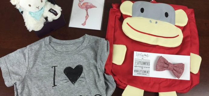 August 2015 A Little Bundle Baby + Toddler Subscription Box Review