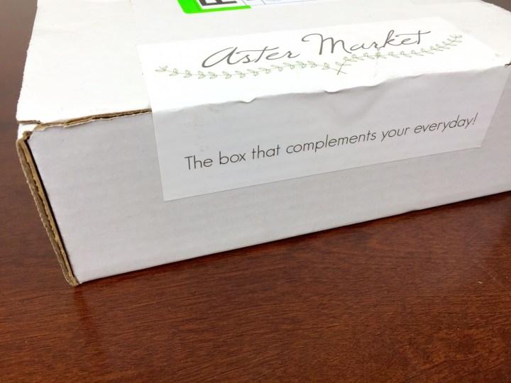 aster market august 2015 box