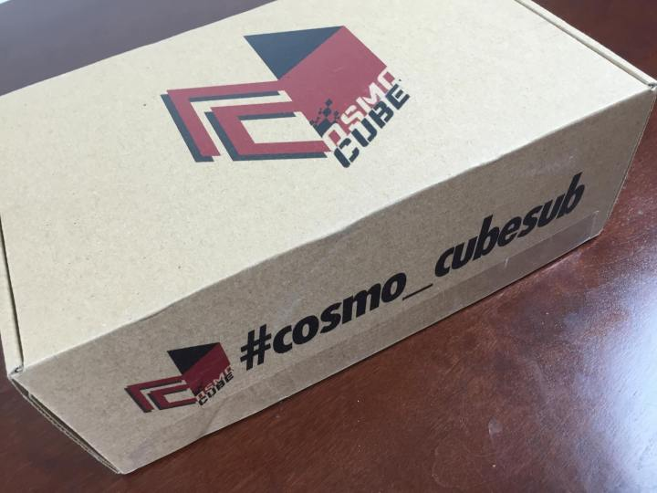 cosmo-cube august 2015 box