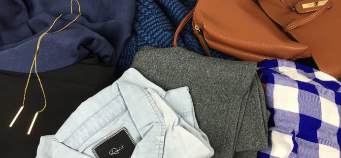 August 2015 Daily Look Elite Clothing Subscription Box Review