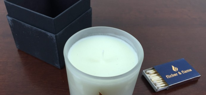 Flicker & Flame Candle Subscription Box Review – August 2015
