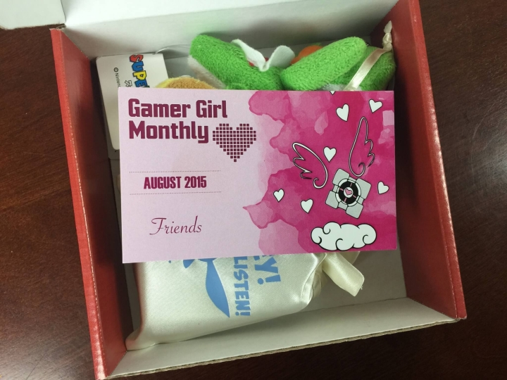 gamer girl monthly august 2015 unboxing