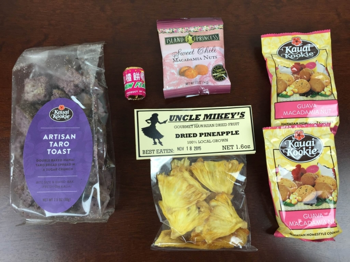 hawaii snack box august 2015 review