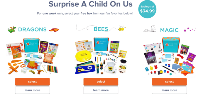 Get Your First Surprise Ride Box Totally FREE – One Week Only!