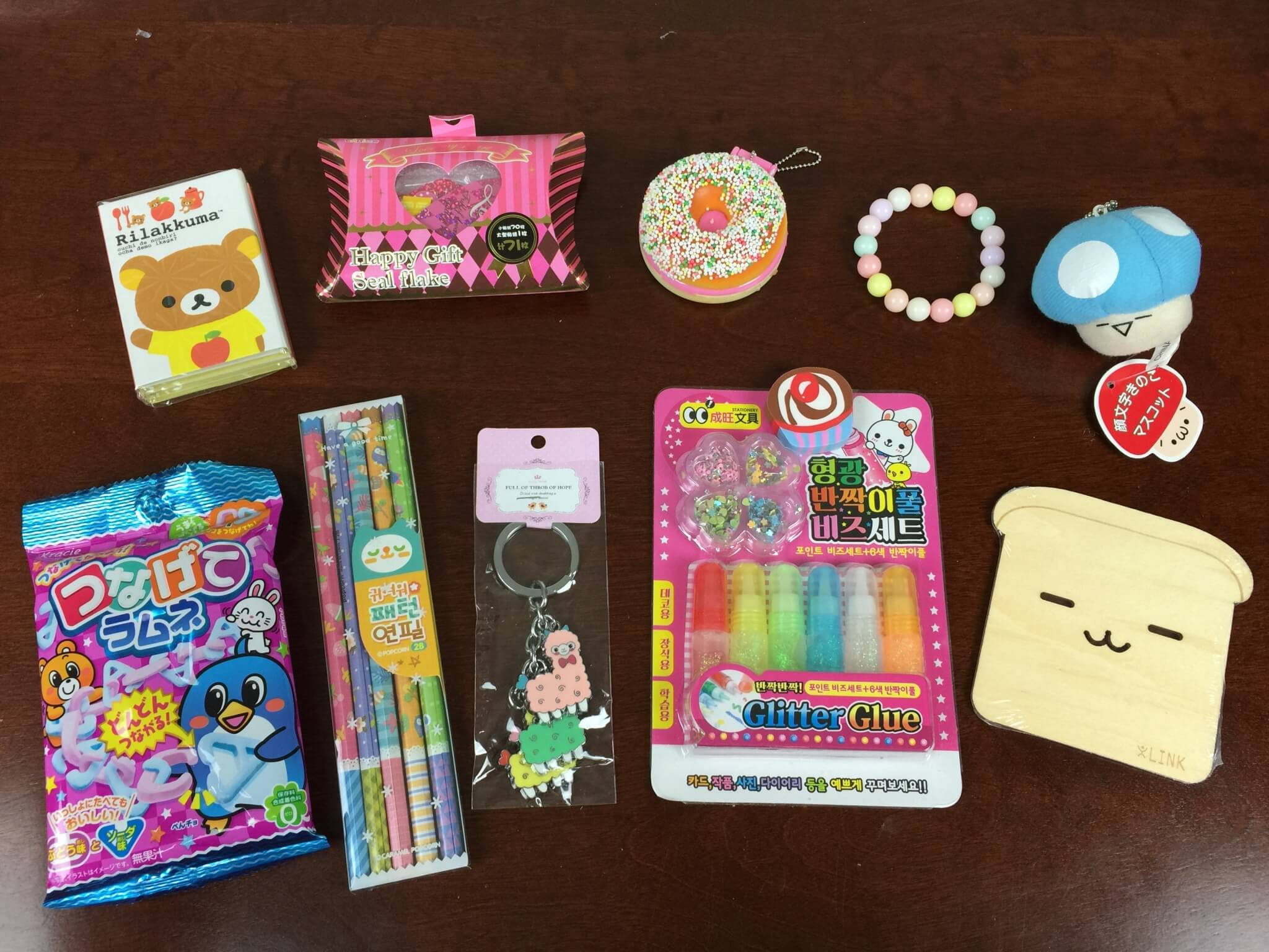 Kawaii box review july 2015 hello subscription