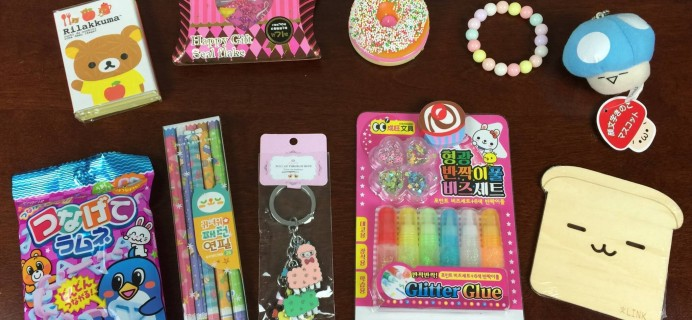 Kawaii Box Review – July 2015