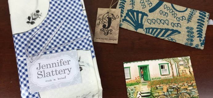 My Ireland Box Subscription Box Review – August 2015